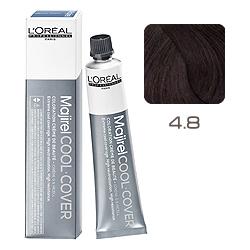 L'Oreal Professionnel Majirel Cool Cover - Краска для волос Кул Кавер 4.8 Шатен мокка 50 мл