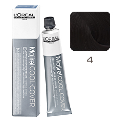 L'Oreal Professionnel Majirel Cool Cover - Краска для волос Кул Кавер 4 Шатен 50 мл