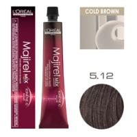 L'Oreal Professionnel Majirel - Краска для волос Мажирель 5.12 Светлый шатен пепельно-перламутровый 50 мл