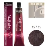 L'Oreal Professionnel Majirel - Краска для волос Мажирель 5.15 Светлый шатен пепельный красное дерево 50 мл