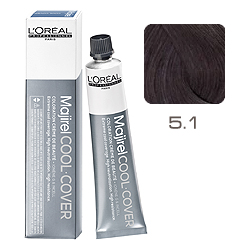 L'Oreal Professionnel Majirel Cool Cover - Краска для волос Кул Кавер 5.1 Светлый шатен пепельный 50 мл