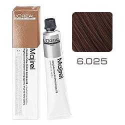 L'Oreal Professionnel Majirel French Browns - Краска для волос Мажирель 6.025 Блондин натуральный перламутровый махагон 50 мл
