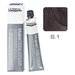 L'Oreal Professionnel Majirel Cool Cover - Краска для волос Кул Кавер 6.1 Темный блондин пепельный 50 мл