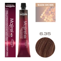 L'Oreal Professionnel Majirel - Краска для волос Мажирель 6.35 тёмный блондин золотистый красное дерево 50 мл