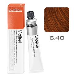 L'Oreal Professionnel Majirel Majirouge - Краска для волос Мажирель 6.40 Темный блондин интенсивный медный 50 мл