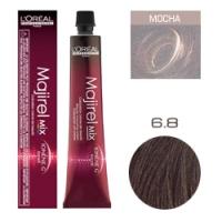L'Oreal Professionnel Majirel - Краска для волос Мажирель 6.8 Темный блонд мокка 50 мл
