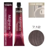 L'Oreal Professionnel Majirel HIGH RESIST - Краска для волос Мажирель 7.12 Блондин пепельно-перламутровый 50 мл