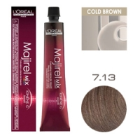 L'Oreal Professionnel Majirel - Краска для волос Мажирель 7.13 Блондин пепельно-золотистый 50 мл
