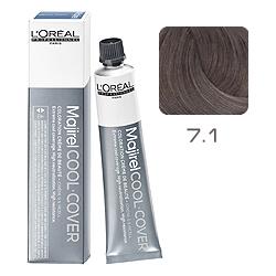L'Oreal Professionnel Majirel Cool Cover - Краска для волос Кул Кавер 7.1 Блондин пепельный 50 мл