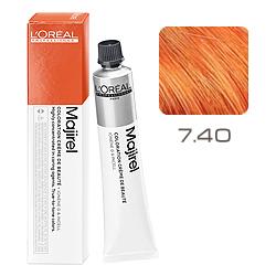 L'Oreal Professionnel Majirouge - Краска для волос Мажируж Рубилайн 7.40 Блондин интенсивный медный 50 мл