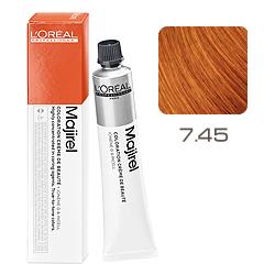 L'Oreal Professionnel Majirouge - Краска для волос Мажируж Рубилайн 7.45 Блондин медный красное дерево 50 мл