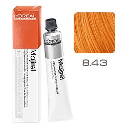 L'Oreal Professionnel Majirouge - Крем-краска 8.43 светлый блондин медно-золотистый 50 мл