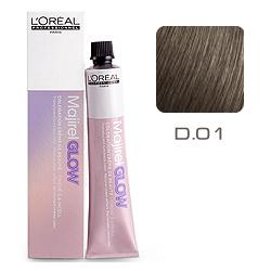 L'Oreal Professionnel Majirel GLOW Dark Base - Краска для волос .01 Дымчато-пепельный (для темных баз от 1 до 5) 50 мл