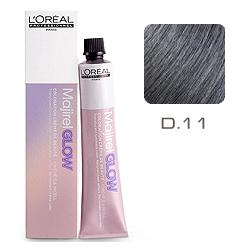 L'Oreal Professionnel Majirel GLOW Dark Base - Краска для волос .11 Графитово-пепельный (для темных баз от 1 до 5) 50 мл