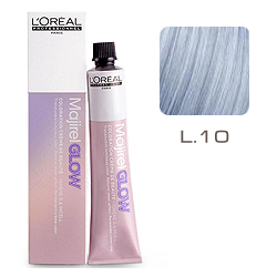 L'Oreal Professionnel Majirel GLOW Light Base - Краска для волос .10 Полярная Луна (для светлых баз от 6 до 10) 50 мл