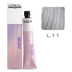 L'Oreal Professionnel Majirel GLOW Light Base - Краска для волос .11 Туман (для светлых баз от 6 до 10) 50 мл