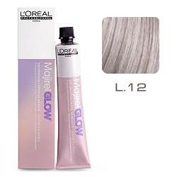 L'Oreal Professionnel Majirel GLOW Light Base - Краска для волос .12 Бежевый Жемчуг (для светлых баз от 6 до 10) 50 мл