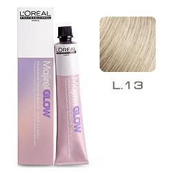 L'Oreal Professionnel Majirel GLOW Light Base - Краска для волос .13 Белое Золото (для светлых баз от 6 до 10) 50 мл