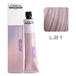 L'Oreal Professionnel Majirel GLOW Light Base - Краска для волос .21 Пепел Розы (для светлых баз от 6 до 10) 50 мл