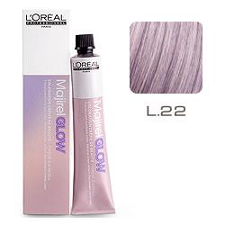 L'Oreal Professionnel Majirel GLOW Light Base - Краска для волос .22 Дикая Орхидея (для светлых баз от 6 до 10) 50 мл