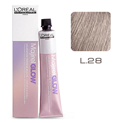 L'Oreal Professionnel Majirel GLOW Light Base - Краска для волос .28 Песочно-розовый (для светлых баз от 6 до 10) 50 мл