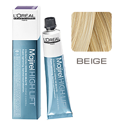 L'Oreal Professionnel Majirel High Lift Beige - Пепельно-золотистый 50 мл