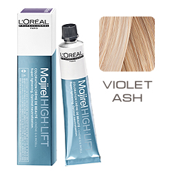 L'Oreal Professionnel Majirel High Lift Violet Ash - Перламутро-Пепельный 50 мл