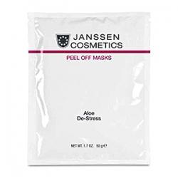 Janssen Cosmetics Masks Aloe De-Stress 10 х 50 g - Альгинатная Антивозрастная Успокаивающая Ультраувлажняющая Маска с Экстрактами Алоэ Вера и Спирулиной 10 х 50 гр