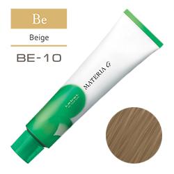 LEBEL Краска для волос Materia G Тон BE10 - Яркий блондин бежевый 120 гр.