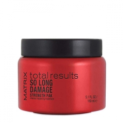 Matrix Total Results Repair So Long Damage Strength Pak Intensive Treatment - Маска-уход для интенсивного восстановления волос 150 мл