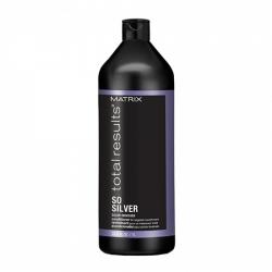 Matrix So Silver Conditioner - Кондиционер для направленного питания хрупких участков и сухих волос блонд 1000 мл