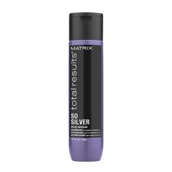 Matrix So Silver Conditioner - Кондиционер для направленного питания хрупких участков и сухих волос блонд 300 мл
