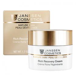 Janssen Cosmetics Mature Skin Rich Recovery Cream - Обогащенный антивозрастной регенерир. крем с компл. Cellular Regeneration 50 мл