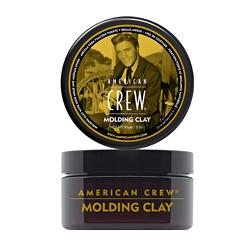 American Crew Molding Clay - Формирующая глина сильной фиксации со средним уровнем блеска для укладки волос 85 гр