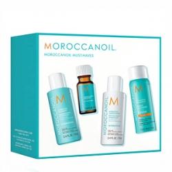 Moroccanoil Must-Haves Kit - Набор Ознакомительный для увлажнения волос 70 + 70 + 75 + 10мл