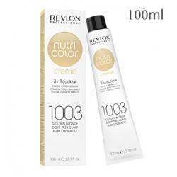 Revlon Professional Nutri Color Creme 1003 Golden Blonde - Крем-краска тон Очень светлый золотистый 100 мл