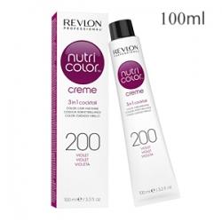 Revlon Professional Nutri Color Creme 200 Violet - Крем-краска тон Фиолетовый 100 мл