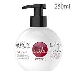 Revlon Professional Nutri Color Creme 500 Purple Red - Крем-краска тон Пурпурно-красный 250 мл