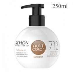 Revlon Professional Nutri Color Creme 713 Frosty Beige - Крем-краска тон Гавана 250 мл