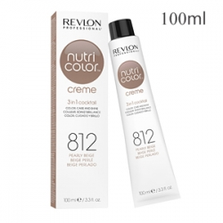 Revlon Professional Nutri Color Creme 812 Pearly Beige - Крем-краска тон Жемчужный бежевый 100 мл