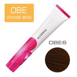 LEBEL Краска для волос Materia OBE6 - Тёмный блондин оранжево-бежевый 80 гр