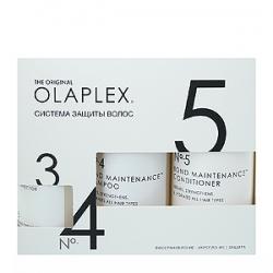 "OLAPLEX No.3 + No.4 + No.5 Bond Maintenance KIT - Набор ""Система защиты волос"" эликсир  100мл + шампунь 250мл + кондиционер  250мл"