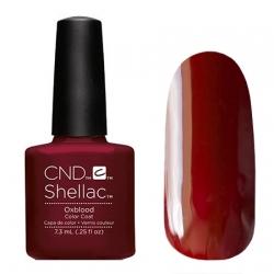 CND Shellac Oxblood - Гель-лак для ногтей 7,3 мл темный кроваво-красный