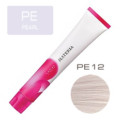 LEBEL Краска для волос Materia PE12 - Супер блондин перламутровый 80 гр