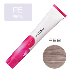 LEBEL Краска для волос Materia PE8 - Светлый блондин перламутровый 80 гр
