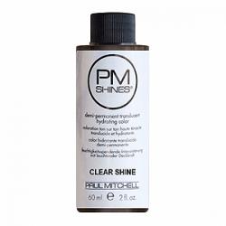 Paul Mitchell Shines Clear Shine - Краска для мгновенного пастельного тонирования Чистое сияние 60 мл