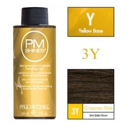 Paul Mitchell Shines Cinnamon Stick - Краска для мягкого тонирования 3Y Палочка корицы 60 мл