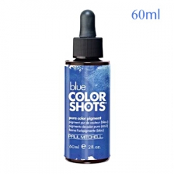 Paul Mitchell Color Shots BLUE - Капли цветовые пигменты, Синий 60 мл