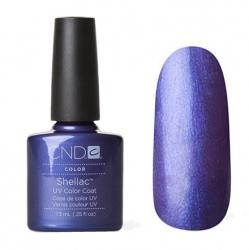 CND Shellac Гель-лак для ногтей Purple Purple 7,3 мл сине-фиолетовый перламутровый.