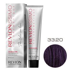 Revlon Professional Revlonissimo Colorsmetique Color & Care - Крем-гель 33.20 Темно-коричневый бургундский 60 мл